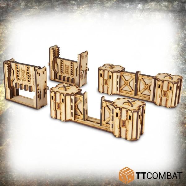 Iron Labyrinth Doors