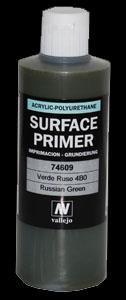 Vallejo Surface Primer Russian Green (200ml)