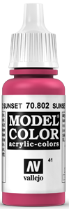041 Sunset Rot (Sunset Red)