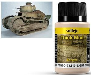 Thick Mud Light Brown 40 ml