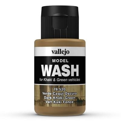 Model Wash 520 Dark Khaki Green