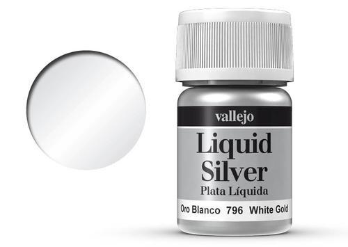 217 Weissgold Metallics (Alkohol-Basis)