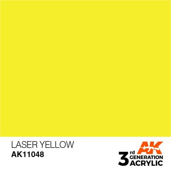 Laser Yellow - Standard