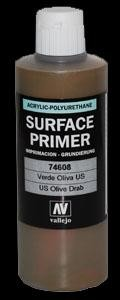 Vallejo Surface Primer US Olive Drab (200ml)