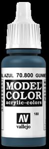 180 Blauer Stahl (Gunmetal Blue)
