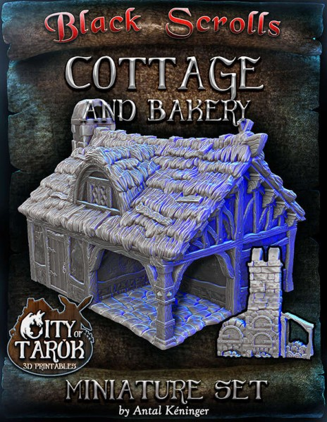 City of Tarok: Cottage and bakery