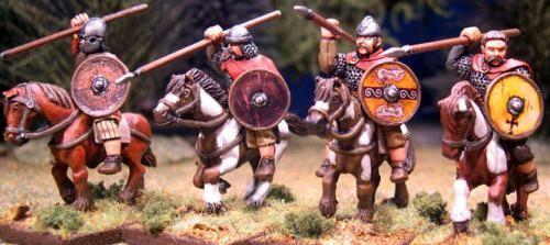 Mounted Welsh Teulu (Hearthguard) (4)