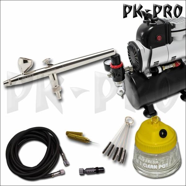 H&S-Ultra+Kompressor-AF189-Airbrush-Starter-Set