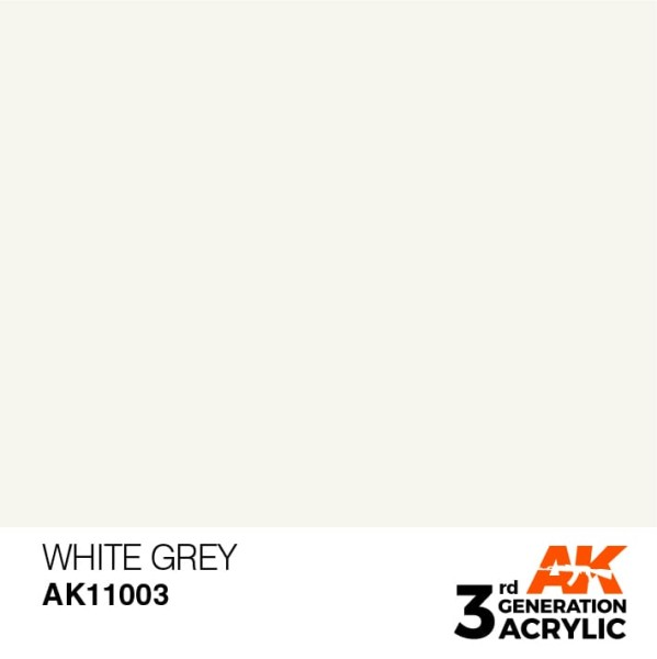 White Grey -Standard