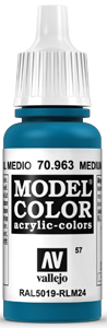 057 Enzianblau (Medium Blue)