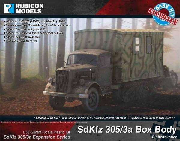 SdKfz 305/3a Expansion - Box Body