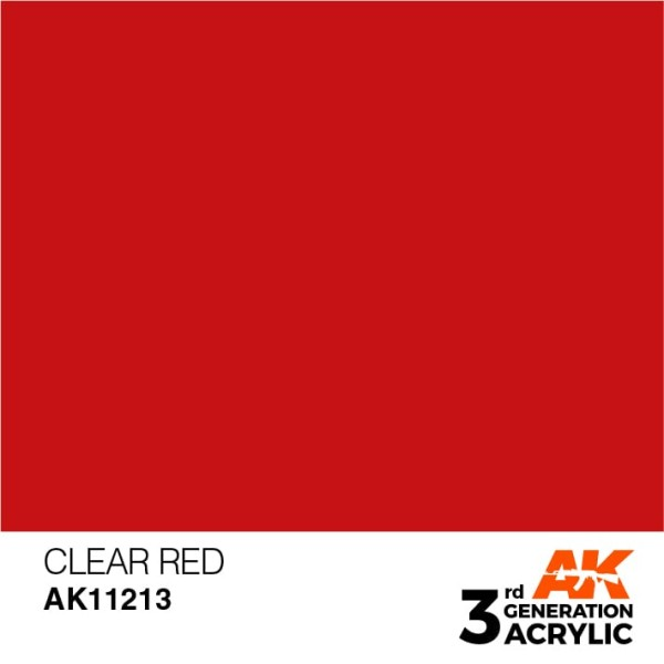 Clear Red - Standard