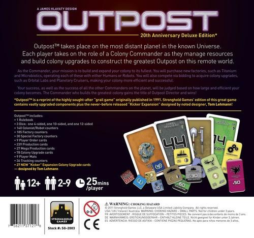 Outpost ENGLISCH