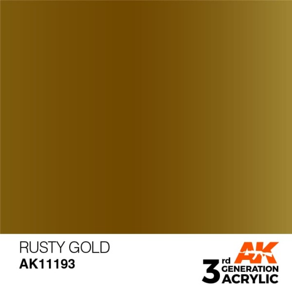 Rusty Gold - Metallic