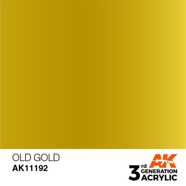 Old Gold - Metallic