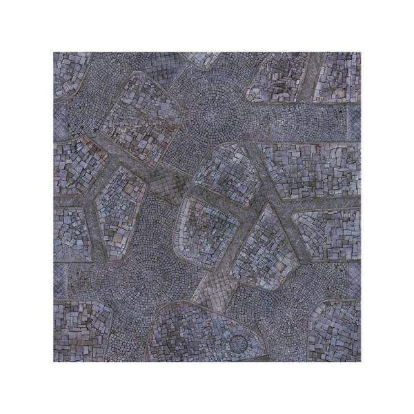 Cobblestone City 4x4 Gaming Mat