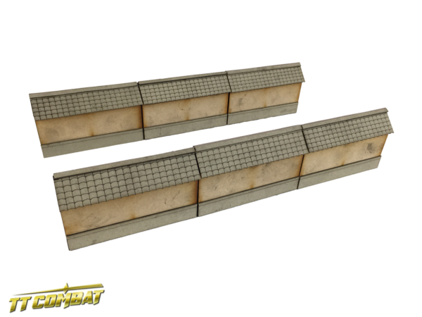 Yagura Straight Wall Sections