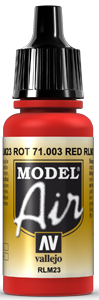 003 Scarlet Red, 17 ml
