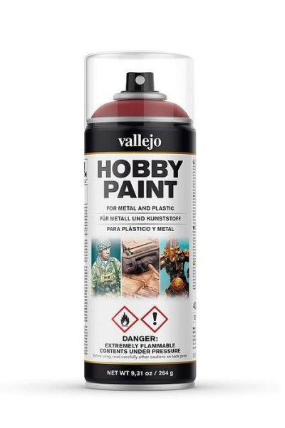 Vallejo Hobby Paint Spray Gory Red