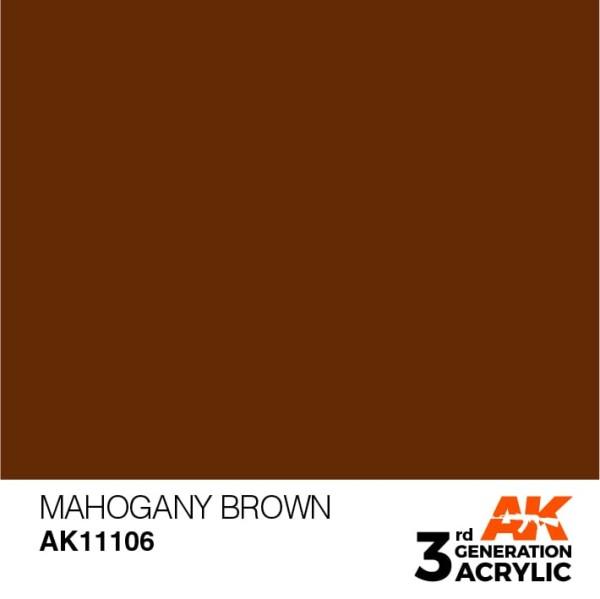 Mahogany Brown - Standard