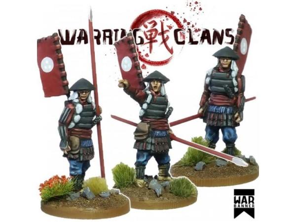 Warring Clans: Ashigaru with Yari (Spear) 3