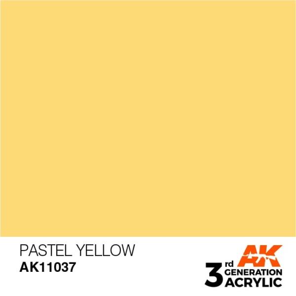 Pastel Yellow - Pastel