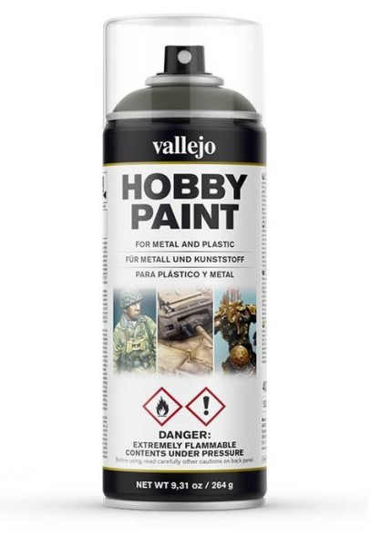 Vallejo Hobby Paint Spray Russian Green 4BO
