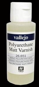 Polyurethane Matt Varnish 60ml