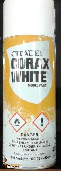 Corax White Spühgrundierung