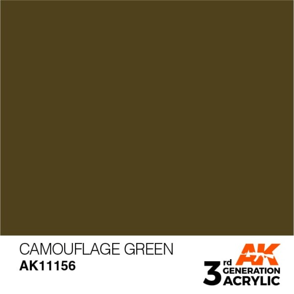 Camouflage Green - Standard