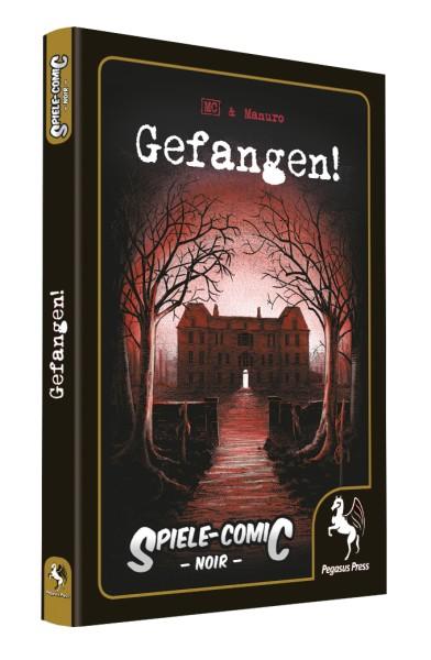 Spiele-Comic Noir - Gefangen!