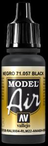 057 Black, 17 ml