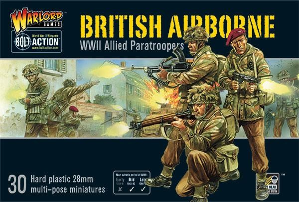 British Airborne WWII Allied Paratroopers