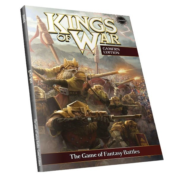 Kings of War 2. Edition Spieler Regelbuch (deutsch) Softcover