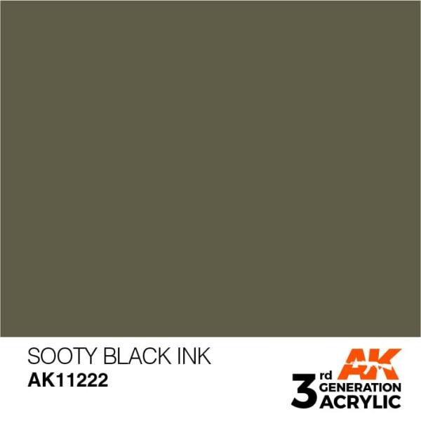 Sooty Black - Ink