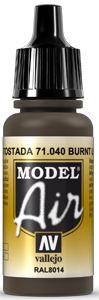 040 Burnt Umber, 17 ml