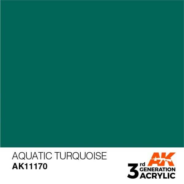 Aquatic Turquoise - Standard