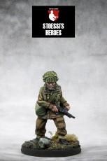 British Airborne Lieutenant – Joseph Winston (Pat) Glover & Myrtle Para-Chick
