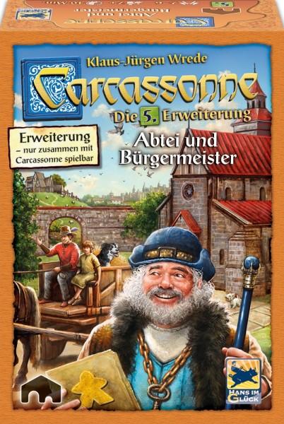 Carcassonne: Abtei & Bürgermeister