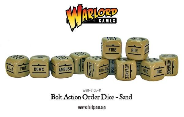 Order Dice pack - Sand
