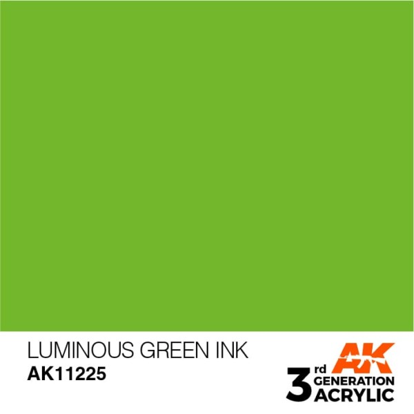 Luminous Green - Ink