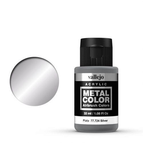 Vallejo Metal Color 724 Silver 32 ml.
