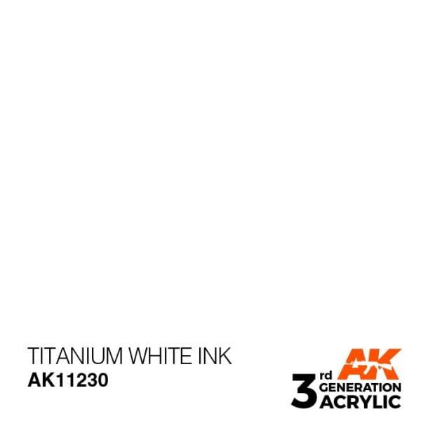 Titanium White - Ink