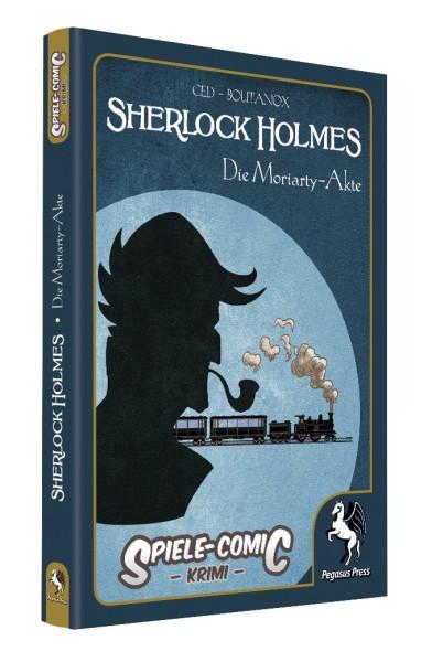 Spiele-Comic Krimi: Sherlock Holmes #2 - Die Moriarty-Akte