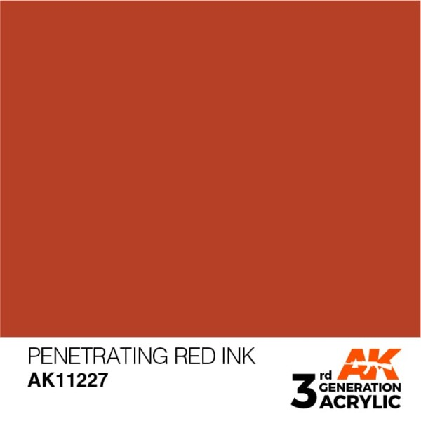 Penetrating Red - Ink