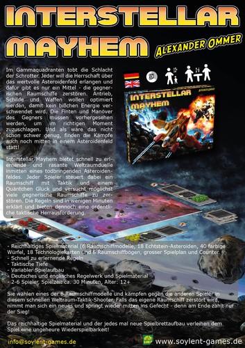 Interstellar Mayhem ENGLISCH