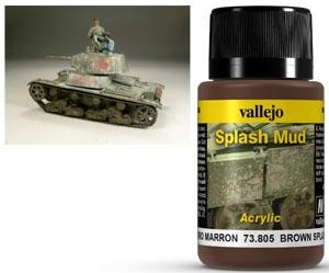 Splash Mud Brown 40 ml