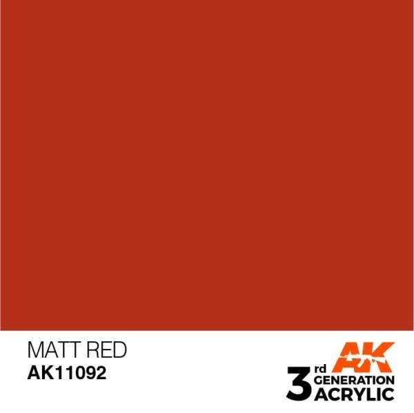 Matt Red - Standard