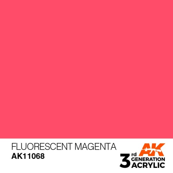 Fluorescent Magenta - Standard
