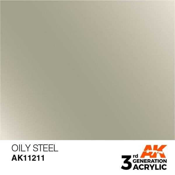 Oily Steel - Metallic